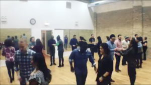 Salsa group class with Dennis PaSamba